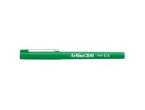 Fiberpenna Artline 200 0,4mm grön 12st/fp