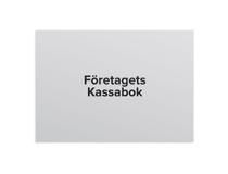 Företagets Kassabok A4L