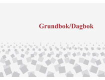 Grundbok/Dagbok A4L