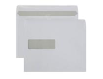 Fönsterkuvert C5 V2 vita självhäftande 500st/kartong