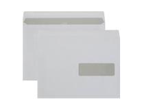 Fönsterkuvert C5 H3 vita självhäftande 500st/kartong