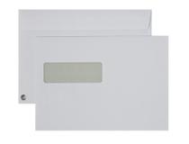 Fönsterkuvert C5 V2 vita SS täckremsa 500st/kartong