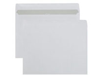 Kuvert C5 vita självhäftande 500st/kartong