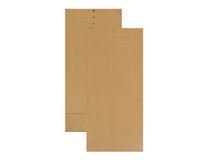 Provsäck brun 230x400mm 250st/kartong