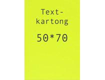 Kartong 50x70cm fluorescerande gul 10st/fp