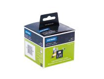 Etikett Dymo diskett 70x54 vit 320st/fp