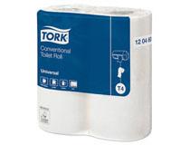 Toalettpapper Tork Universal Extra Lång 2 lager T4 24 rullar/bal