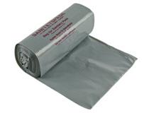 Sanitetspåse plast 100st/rulle