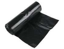 Sopsäck 70l 0,04mm svart 25st/rulle