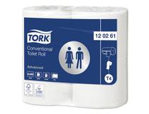 Toalettpapper Tork Advanced Extra Lång T4 24 rullar/bal