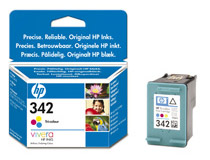 Bläckpatron HP No342 5ml 3-färg