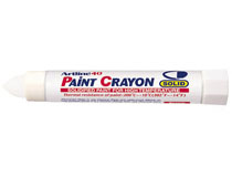 Märkpenna Artline 40 Paint Crayon vit