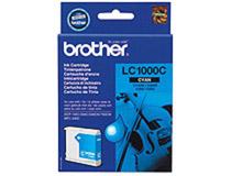Bläckpatron Brother LC1000C 400 sidor cyan
