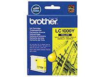 Bläckpatron Brother LC1000Y 400 sidor gul