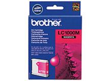 Bläckpatron Brother LC1000M 400 sidor magenta