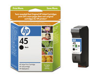 Bläckpatron HP No45 830 sidor svart