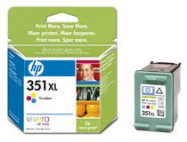 Bläckpatron HP No351 XL 13ml  färg