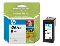 Bläckpatron HP No350 XL 25ml svart