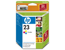 Bläckpatron HP No23 3-färg