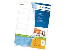 Laseretiketter Herma Premium 105x37 1600st/fp