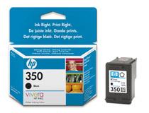 Bläckpatron HP No350 4,5ml svart