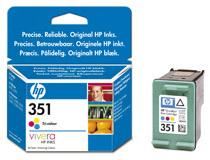Bläckpatron HP No351 3,5ml 3-färg