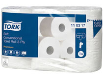 Toalettpapper Tork Premium 3 lager T4 42 rullar/bal