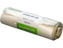 Sopsäck Polynature 160l 10st/rulle