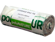 Sopsäck Polynature 70l 20st/rulle