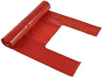 Soppåse PolyPRIMA 18l röd 25st/rulle