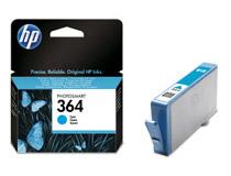Bläckpatron HP No364 Vivera 300 sidor cyan