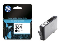 Bläckpatron HP No364 Vivera 250 sidor svart