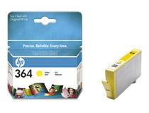 Bläckpatron HP No364 Vivera 300 sidor gul