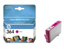 Bläckpatron HP No364 Vivera 300 sidor magenta