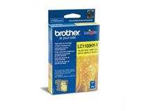 Bläckpatron Brother LC1100Y HC 750 sidor gul