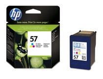 Bläckpatron HP No57 125 sidor 3-färg