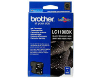 Bläckpatron Brother LC1100BK 450 sidor svart