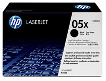 Toner HP CE505X 6,5k svart
