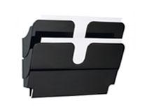 Blankettfack Flexiplus 2 fack A4 liggande svart 2st/fp