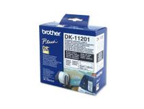 Etikett vit DK11201 90x29mm 400st/rulle