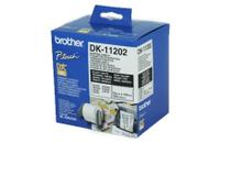 Etikett vit DK11202 100x62mm 300st/rulle