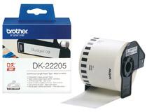 Etikett vit DK22205 30mx62mm