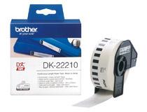 Etikett vit DK22210 30mx29mm