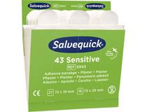 Plåsterrefill Salvequick 6943 Sensitive 6x43st/fp