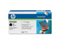 Toner HP CE250X 10,5k svart