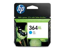 Bläckpatron HP No364XL 750 sidor cyan