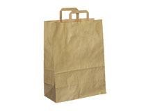 Bärkasse papper brun 30 liter 200st/krt