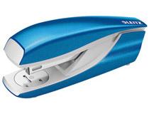 Häftapparat Leitz WOW 5502 blå metallic