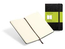 Anteckningsbok Moleskine Classic Pocket olinjerad svart