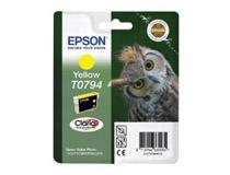 Bläckpatron Epson T0794 400 sidor gul
